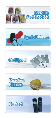 bodylijn, lymfo balance, lipo, reacties, contact, menu